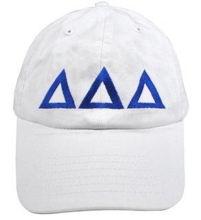 Delta Delta Delta Greek Letter Hat