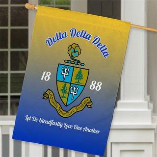 Delta Delta Delta House Flag