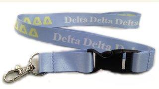 Delta Delta Delta Lanyard