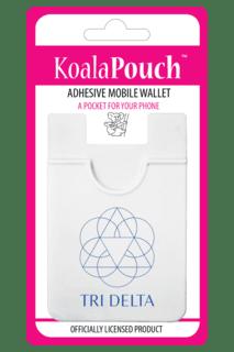 Delta Delta Delta Logo Koala Pouch