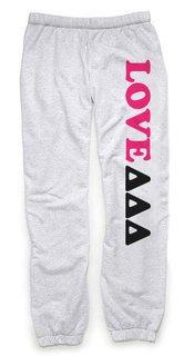 Delta Delta Delta Love Sweatpants