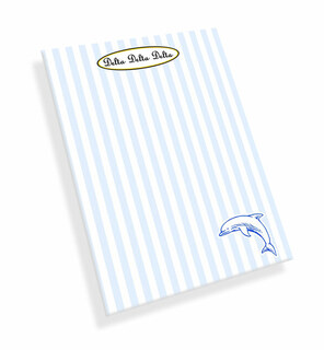 Delta Delta Delta Mascot Notepad