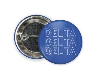 Delta Delta Delta Modera Button