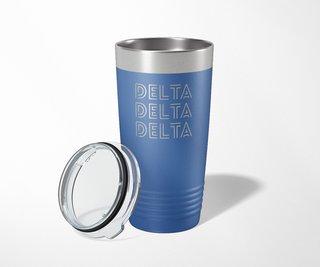 Delta Delta Delta Modera Tumbler