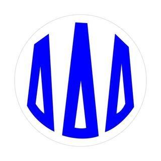 Delta Delta Delta Monogram Decal
