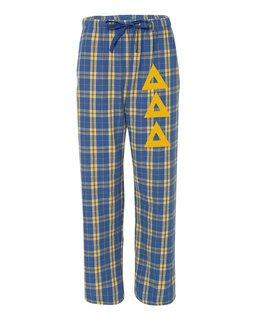 Delta Delta Delta Pajamas -  Flannel Plaid Pant