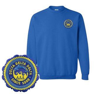 Delta Delta Delta Patch Seal Sweatshirt