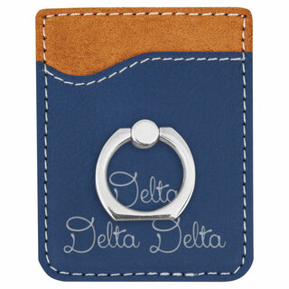 Delta Delta Delta Phone Wallet with Ring