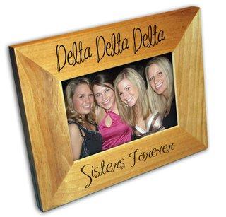Delta Delta Delta Picture Frames