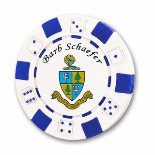 Delta Delta Delta Poker Chips