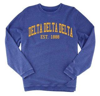 Delta Delta Delta Rally Corduroy Crew