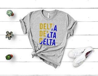 Delta Delta Delta Ripped Favorite T-Shirt