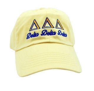 Delta Delta Delta Script Cap