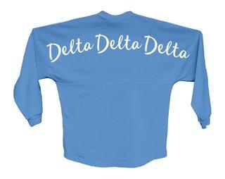 Delta Delta Delta Script Jersey