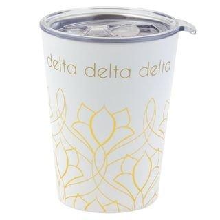 Delta Delta Delta Short Coffee Tumblers