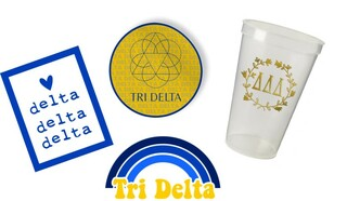 Delta Delta Delta Sorority Large Pack $15.00