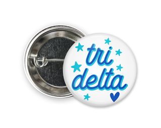 Delta Delta Delta Star Button