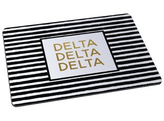 Delta Delta Delta Striped Mousepad