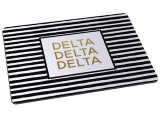 Delta Delta Delta Striped Mousepad