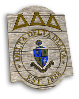 Delta Delta Delta Traditional Sign