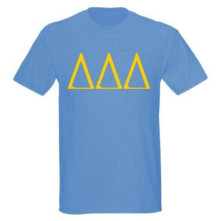 Delta Delta Delta University Greek T-Shirts