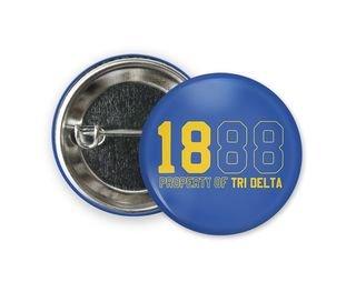 Delta Delta Delta Year Button