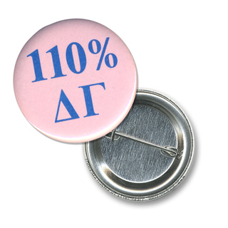 Delta Gamma 110% Sorority Buttons