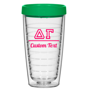 Delta Gamma 16oz. Double Wall Tumbler