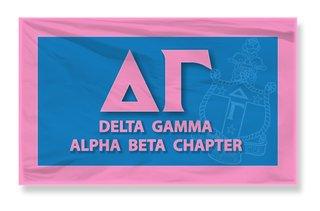 Delta Gamma 3 X 5 Flag