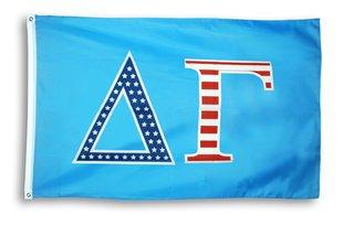Delta Gamma 3 X 5 USA Flag