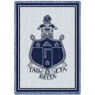 Delta Gamma Afghan Blanket Throw