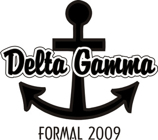 Delta Gamma Anchor Ball Designs - Design your own Anchor Ball Merchandise