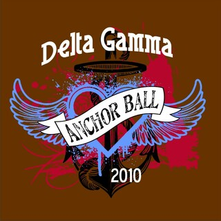Delta Gamma Anchor Ball Shirts