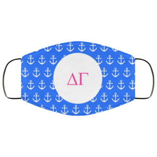 Delta Gamma Anchors Face Mask
