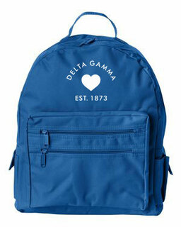 DISCOUNT-Delta Gamma Mascot Backpack
