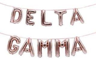 Delta Gamma Banner Balloon Set