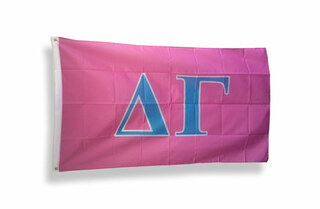 Delta Gamma Big Greek Letter Flag