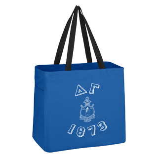 Delta Gamma Block Crest - Shield Cape Town Bag