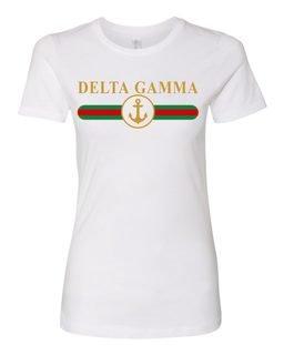 Delta Gamma Boyfriend Golden Crew Tee