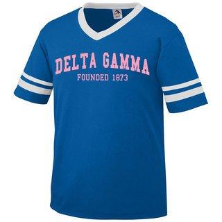 Delta Gamma Boyfriend Style Founders Jersey