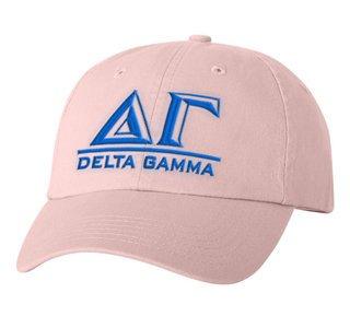 Delta Gamma Chiseled Greek Sorority Line Hat