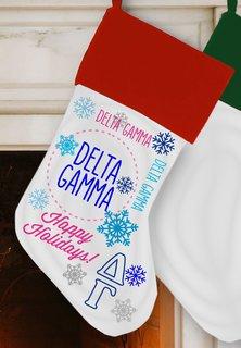 Delta Gamma Christmas Stocking