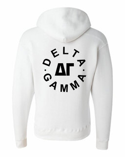 Delta Gamma Circle Hoodie