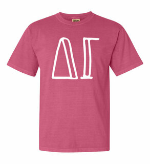 Delta Gamma Comfort Colors Heavyweight Design T-Shirt