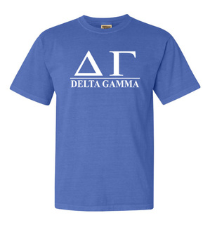 Delta Gamma Comfort Colors Heavyweight T-Shirt