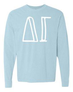 Delta Gamma Comfort Colors Greek Long Sleeve T-Shirt