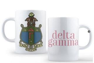 Delta Gamma Crest - Shield Coffee Mug