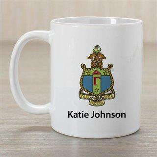 Delta Gamma Crest Coffee Mug - Personalized!