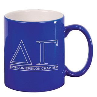 Delta Gamma Custom Ceramic Coffee Mug