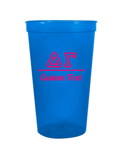 Delta Gamma Custom Greek Collegiate Stadium Cup